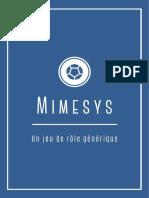 Memisys 3.3 - Livre de base