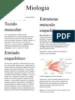 Miologia catalogo