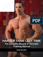 Harder Than Last Time! The Complete Muscle - Strength Training Manual