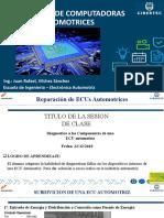 SESION Nº 03 DIAGNOSTICO DE UNA COMPUTADORA AUTOMOTRIZ.