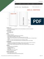 especificações tecnicas do roteador apple