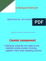 Biological Moleculer