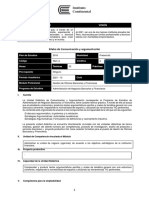 Comunicación y Argumentación Administración de Negocios Bancarios y Financieros
