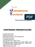presentación . PLANES DE ORDENAMIENTO TERRITORIAL
