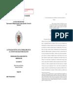 Sanmartín Ortí, P. de La Desautomatización