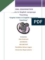 Using Digital Video in English Language Teaching