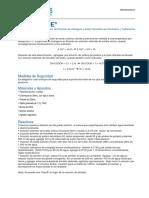TecData PeraceticAcid Concentracao Cerimetria Iodometria ES 219949