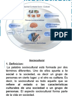 Definicion de Contexto Sociocultural