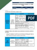 Anexo Pac-obtc-03-u2100-01procedimiento Mantenimiento General a La Torre T- 4303
