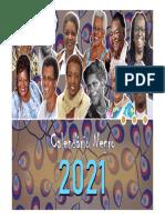 Calendário 2021 - Meses