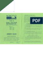 Norcold Tek II Model MRFT-415 User Guide