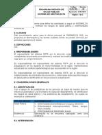 PROGRAMA RIESGOS DE SALUD PUBLICA