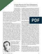 Faurisson, Robert - Historiker gesteht - Keine Beweise für Nazi-Gaskammern! (1997, VffG Nr. 1, Orig., dsb.)