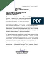Carta Juan Arvizu