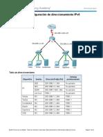 Práctica 14 Explicación PAcket tracert IPv6