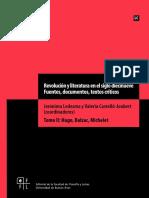 Revolución y Literatura en El Siglo Diecinueve. Fuentes, Documentos, Textos Críticos. Tomo 2_interactivo_0
