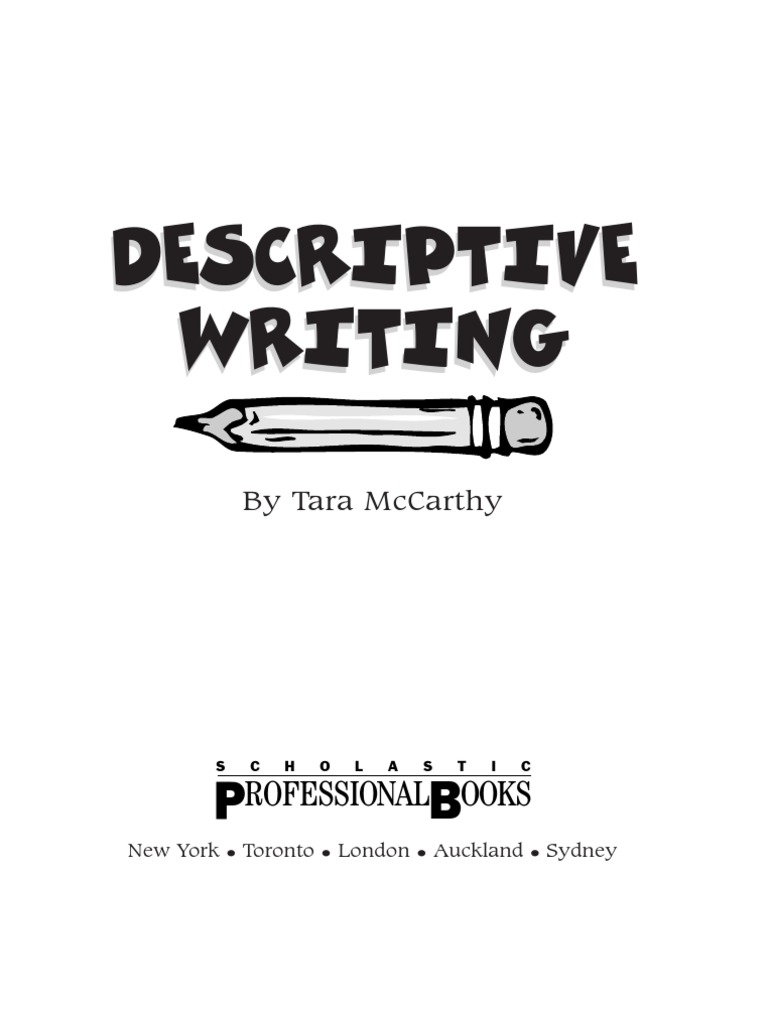 descriptive writing metaphor