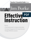 The Teacher's Essential Guide Series- Effective Instruction