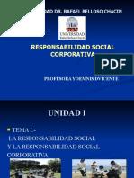 unidad iRESPONSABILIDAD SOCIAL CORPORATIVA