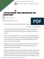 Droit de réponse _ Cher Louis Skorecki, d'où parlez-vous_ – Libération