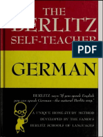 The Berlitz Selt-teacher German-ответ
