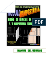 MAMPOSTERIA WINDOWS. MANUAL. P1 DE 2