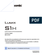 Panasonic S1H Manual Español