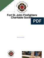 Fort St. John Firefighters Charitable Society Update - February 2021