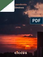 Escritos en Pandemia - Sebastián Giménez