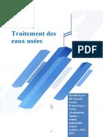 Rapport Traitement Des Eaux - Copie