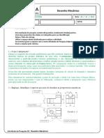 Atividade de pesquisa 01 - Desenho Mecânico