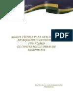IBAPE 003-11 NORMA-AVALIACAO-DO-DESEQUILIBRIO-ECONOMICO-FINANCEIRO