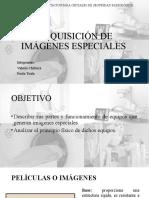 Adquisición de Imágenes Especiales Paola