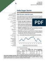 Indian Sugar Sector