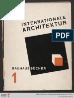 Revista. Bauhaus 1925 z4