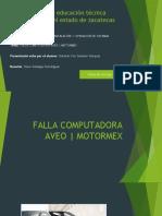 FALLA COMPUTADORA AVEO