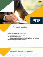 Suscripción Del Contrato y Pérdida Automática de La Buena PrO