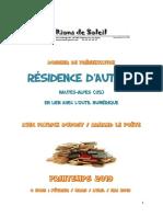 Dossier Présentation p.dubost