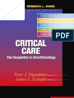 Critical Care Anesthesia