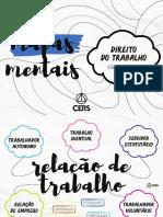 11-MAPAS MENTAIS - DIREITO DO TRABALHO