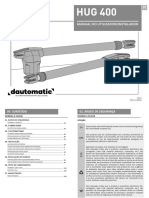 Dautomatic Hug400 Manual