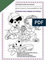 SEMANA DA CRIANÇA 2020  1º e 2º  ano-convertido