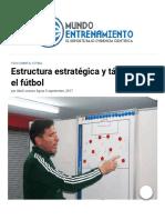 Estructura estratégica y táctica en el fútbol _ Mundo Entrenamiento