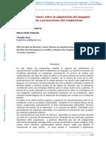 Llomparte- Representaciones sobre la adquisición del lenguaje vigencia y proyecciones del conductismo