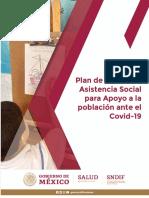 1.5.2 Plan de Acción de Asistencia Social para Apoyo a la población ante el Covid-19