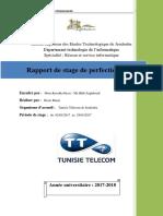 Rapport de Stage Technecien 180301211915