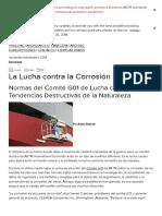ASTM International - La Lucha Contra La Corrosión