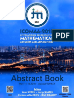 Icomaa 2018 Abstract Book Revised