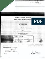 Gemini Launch Vehicle Pilot Safety Program - ANR