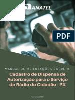 Manual Dispensa Autorizacao Radio do Cidadao
